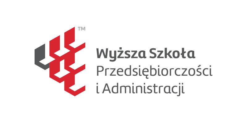 Logo uczelni Wyższa Szkoła Przedsiębiorczości i Administracji