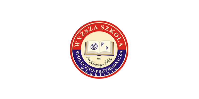 Logo uczelni Wyższa Szkoła Społeczno-Przyrodnicza im. Wincentego Pola w Lublinie